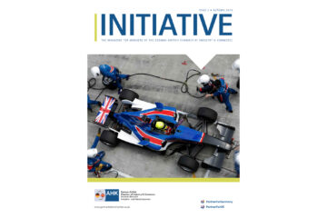 Title page of the Initiative magazine