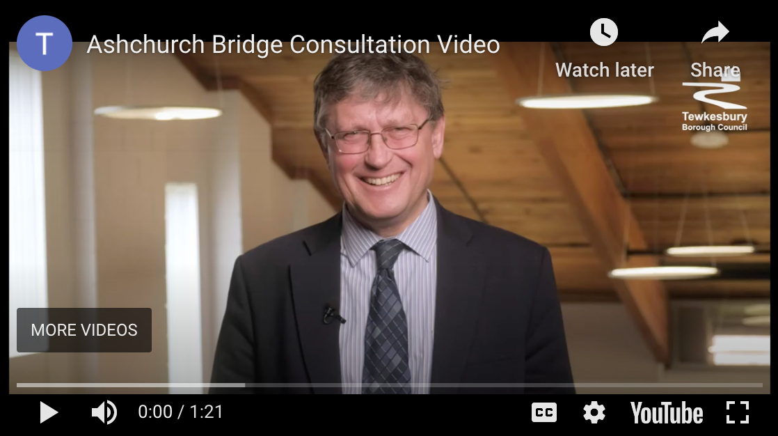 Ashchurch Bridge Project Public Consultation Video