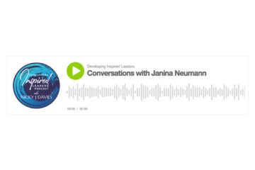 Screenshot of Developing Inspired Leaders Podcast episode