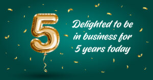 JND-5 Years in Business