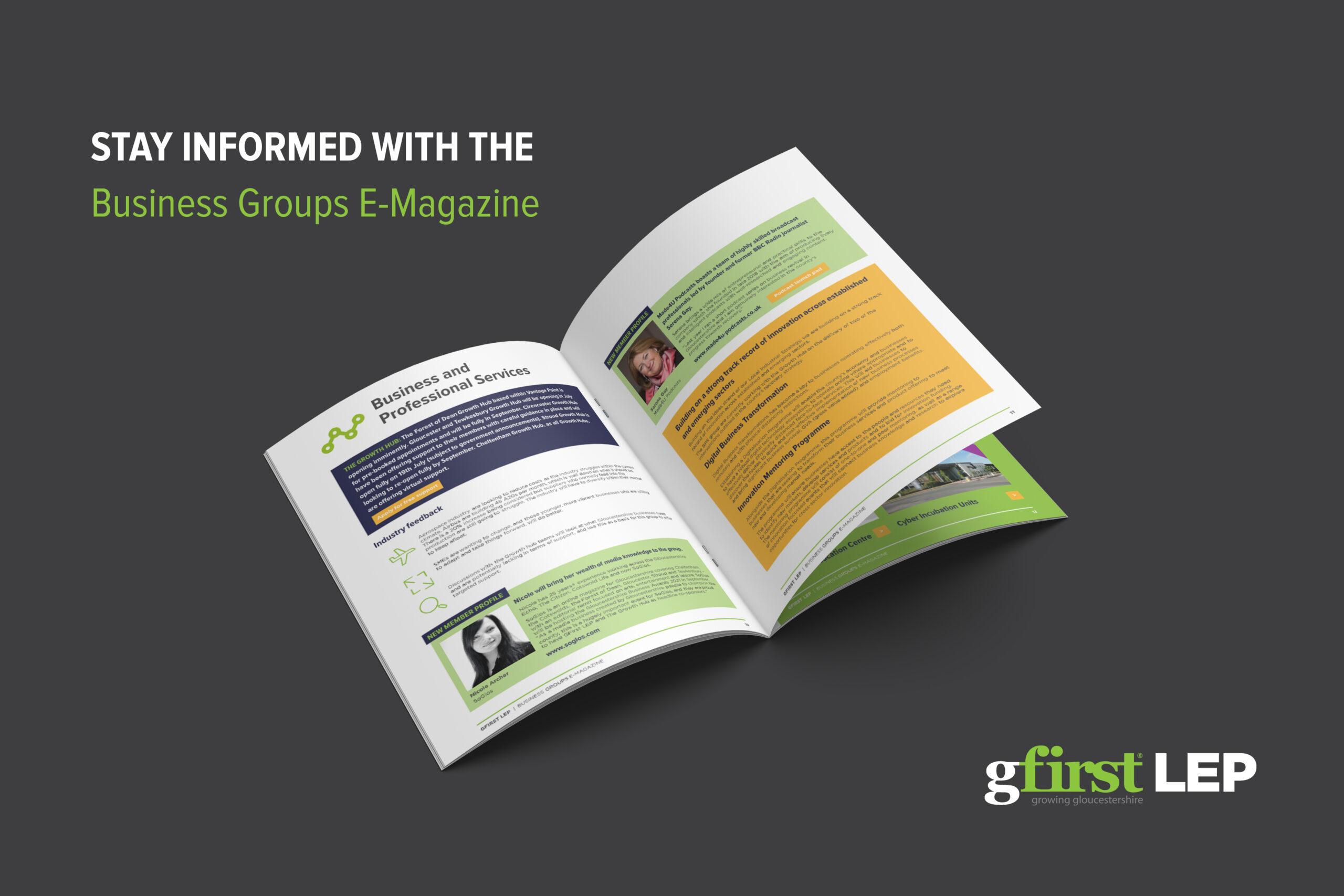 GFirst LEP-Business Groups E-Magazine