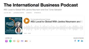 The International Business Podcast with Janina Neumann and Eva Túnez Salvador