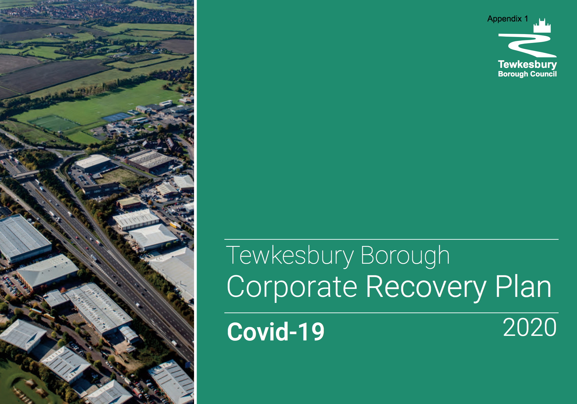 Corporate Recovery Plan 2020 for Covid-19